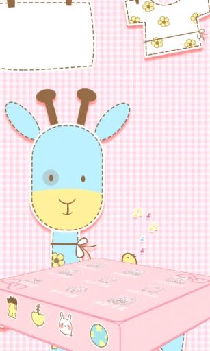 可爱萌萌鹿-3d桌面主题下载_可爱萌萌鹿-3d桌面主题版