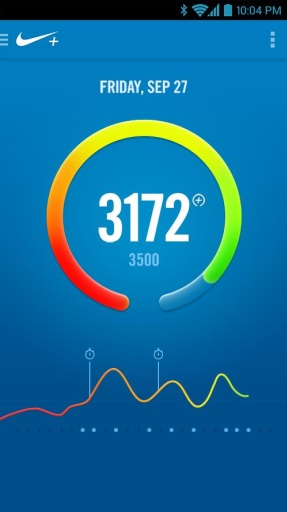 Nike+运动腕带截图0