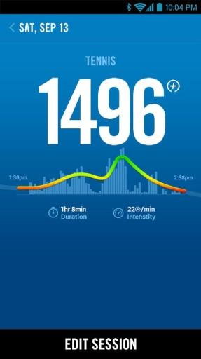 Nike+运动腕带截图4