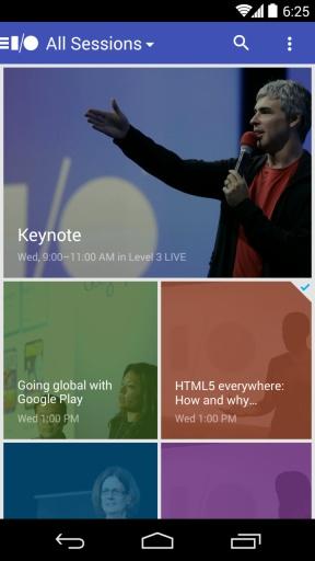 谷歌开发者大会2014