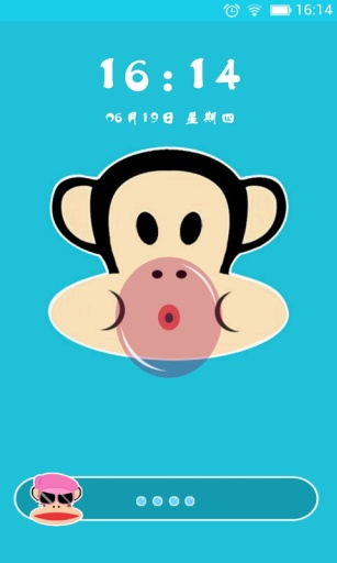 玩工具App|大嘴猴情侣主题动态壁纸锁屏免費|APP試玩