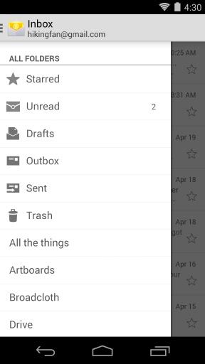 电子邮件截图1