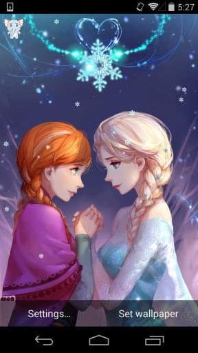 冰雪奇缘-梦象动态壁纸