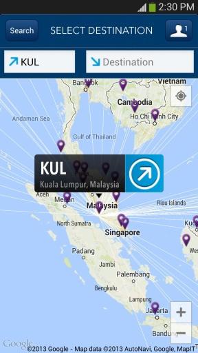 马来西亚航空截图2