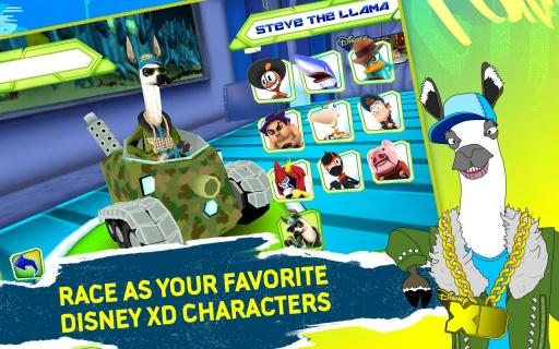 迪士尼:XD大奖赛 无限金币版