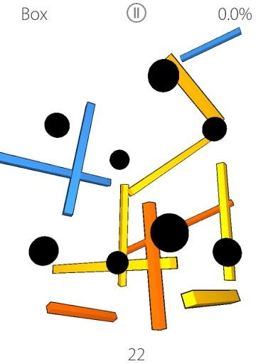 木棒立体结构图
