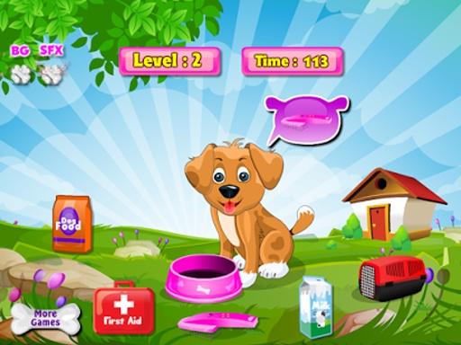 一天,小狗女孩游戏截图0