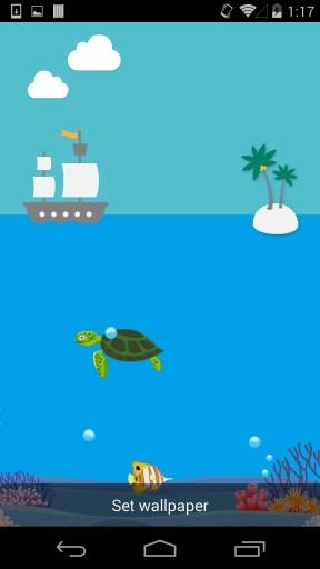 玩免費個人化APP|下載海底世界-梦象动态壁纸 app不用錢|硬是要APP