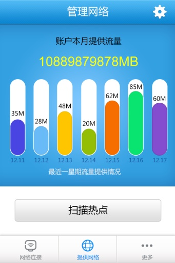 WiFi晴天