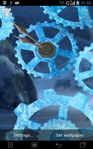 3D时光齿轮-梦象动态壁纸截图0