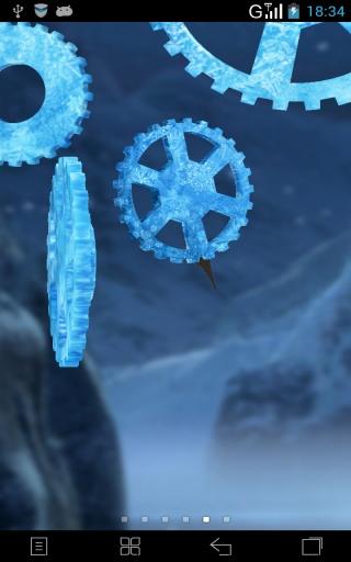 3D时光齿轮-梦象动态壁纸截图1