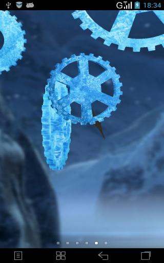 3D时光齿轮-梦象动态壁纸截图3