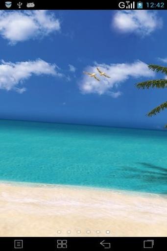 3D夏日海滩动态壁纸截图0