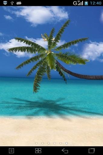 3D夏日海滩动态壁纸截图2