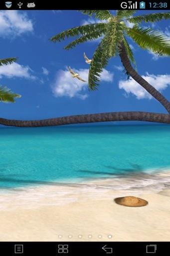 3D夏日海滩动态壁纸截图3