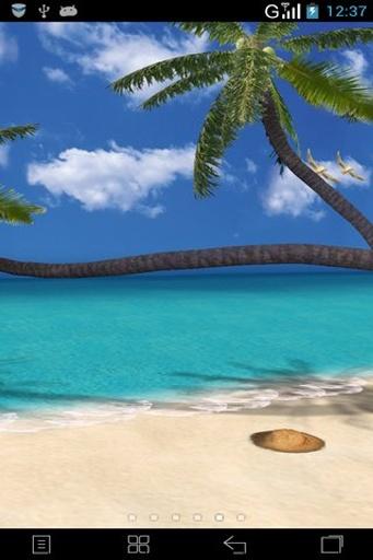 3D夏日海滩动态壁纸截图4