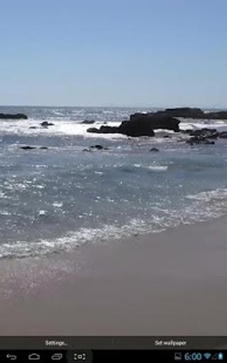 海滩真正的动态壁纸截图0
