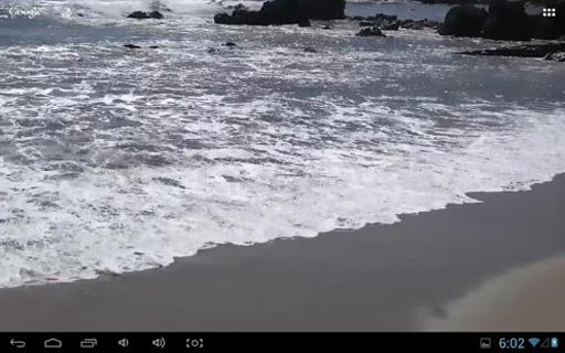 海滩真正的动态壁纸截图1