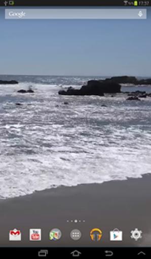 海滩真正的动态壁纸截图2