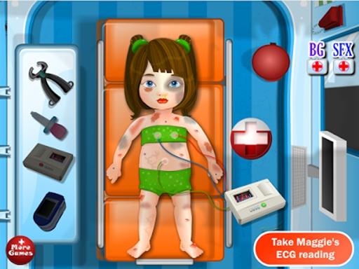 快速救护车女孩子的游戏截图1