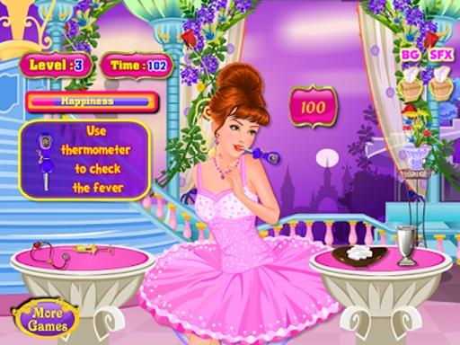 公主在医生女孩子的游戏截图6