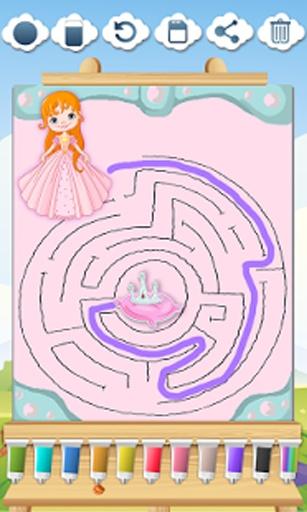 孩子们必须找到以培养他们的记忆对灰姑娘,小美人鱼,白雪公主,长发