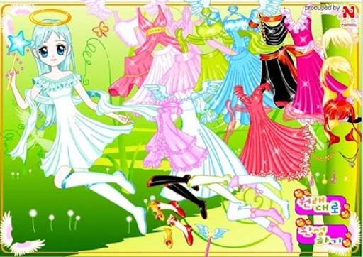 仙女装扮游戏截图3