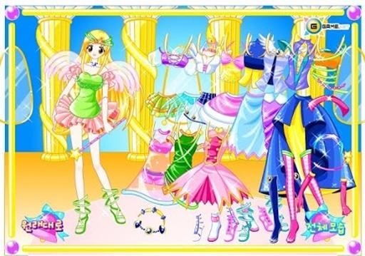 仙女装扮游戏截图4