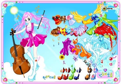 仙女装扮游戏截图8