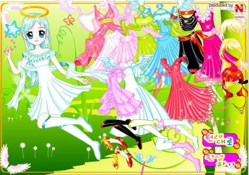 仙女装扮游戏截图9
