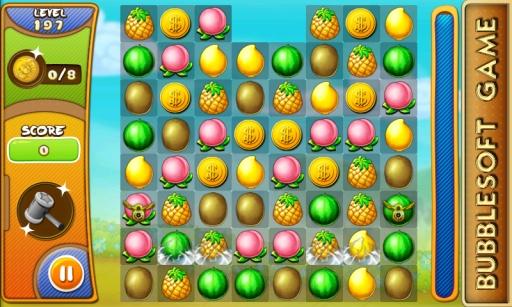 【免費益智App】水果爱消除-APP點子