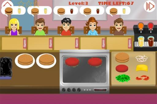 汉堡包餐厅截图5