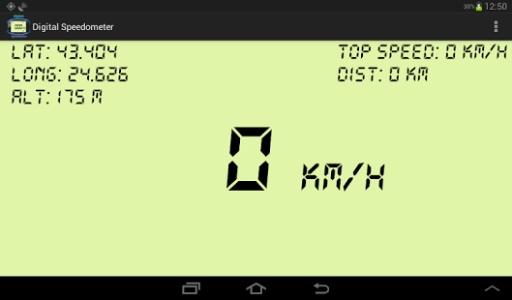 的數字化GPS測速儀