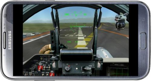 飞行的战斗机模拟器截图0