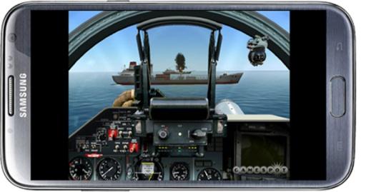 飞行的战斗机模拟器截图1