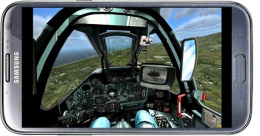 飞行的战斗机模拟器截图2