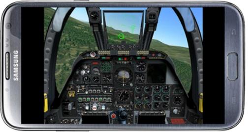 飞行的战斗机模拟器截图3