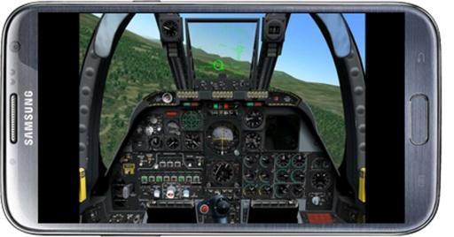 飞行的战斗机模拟器截图7