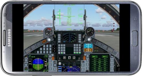 飞行的战斗机模拟器截图9