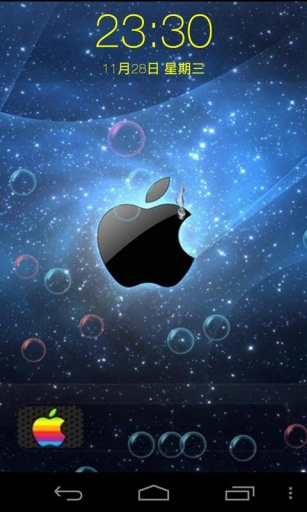 iphone5s苹果锁屏图片
