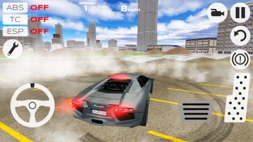 极速汽车模拟驾驶截图1