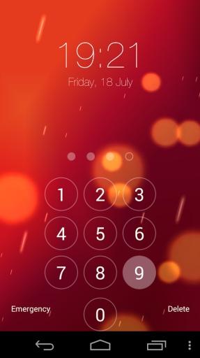这是一种全新的方式使用键盘锁通过创建自己的模式锁来锁定您的手机
