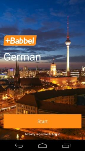 Babbel学德语截图0