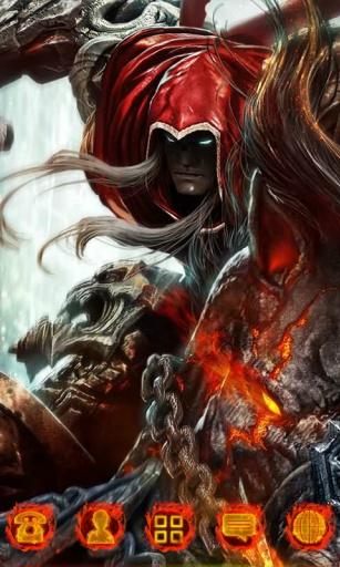 地狱骑士-3D桌面主题截图0