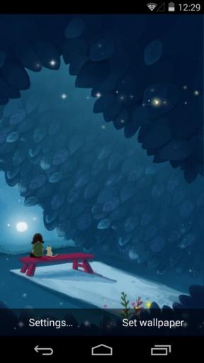 一个人的孤单2_梦象动态壁纸