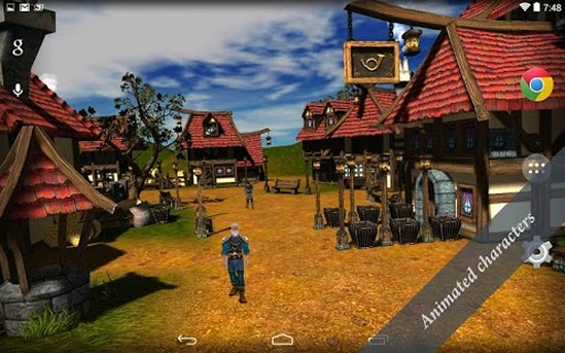 Cartoon Village 3D Free截图1