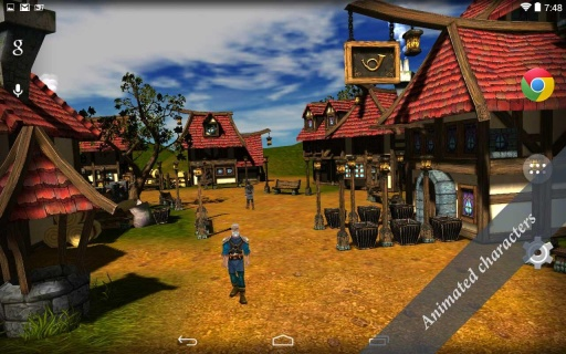 Cartoon Village 3D Free截图4