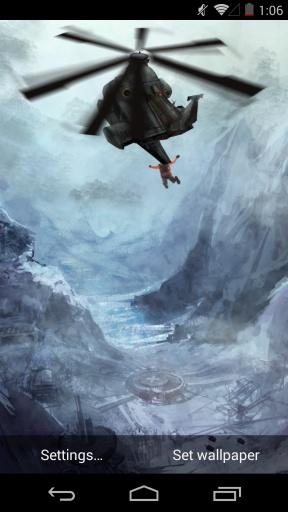 黑鹰潜入-梦象动态壁纸截图0
