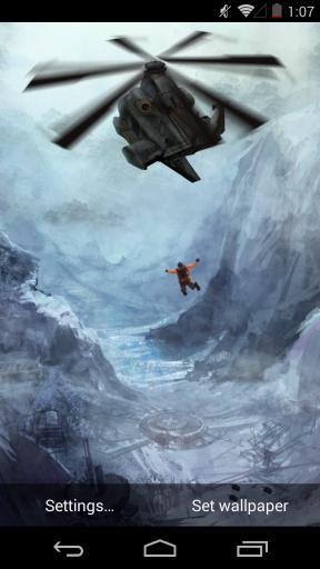 黑鹰潜入-梦象动态壁纸截图1