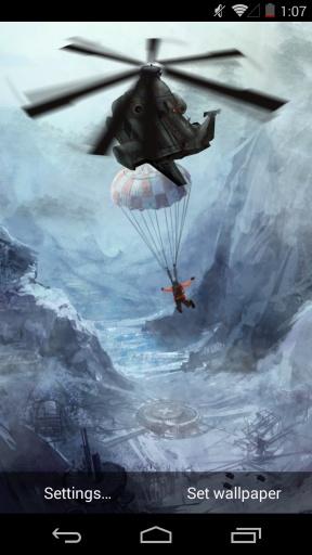 黑鹰潜入-梦象动态壁纸截图3